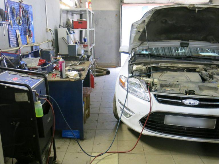 Заправка кондиционера Форд Мондео в Нижнем Новгороде