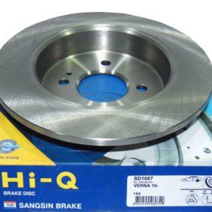 Тормозные диски задние Sangsin SD1087 купить в Нижнем Новгороде